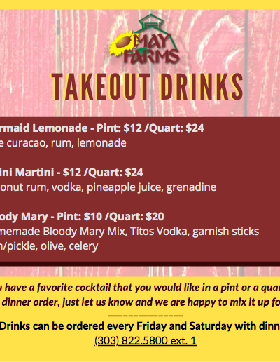 Takeout Drinks